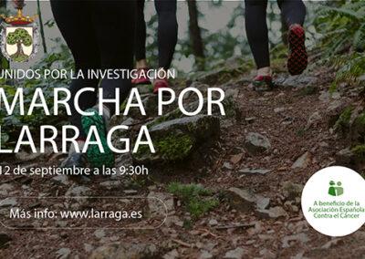 12 DE SEPTIEMBRE Marcha en Larraga