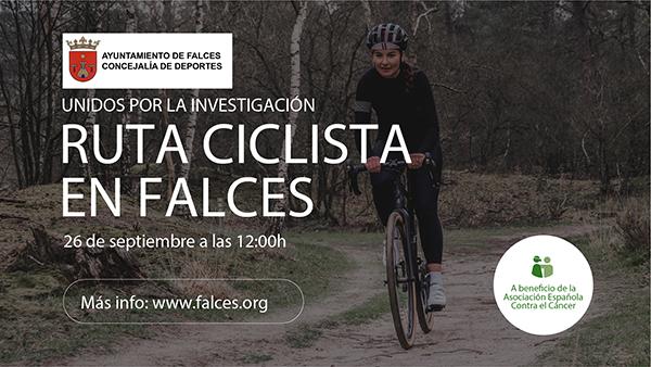 26 DE SEPTIEMBRE  Ruta en bicicleta en Falces