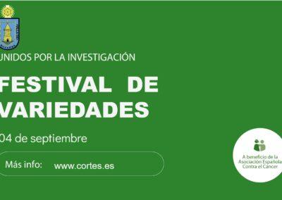 4 DE SEPTIEMBRE FESTIVAL DE VARIEDADES