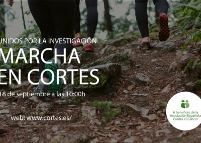 18 DE SEPTIEMBRE Marcha contra el cáncer en Cortes