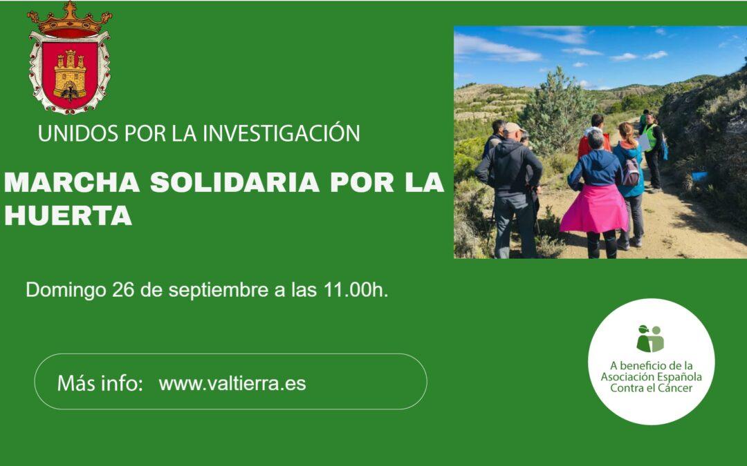26 DE SEPTIEMBRE Marcha solidaria por la Huerta en Valtierra